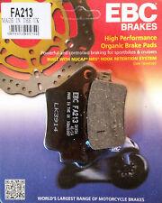 EBC/FA213 Brake Pads (Rear) - BMW F650GS, G650GS, G650X, F800GS, F800ST, S1000RR