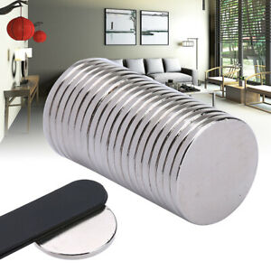 20pcs-N52-20x2mm-Super-Strong-Ring-Disc-Earth-Neodymium-Small-Fridge-Magnets