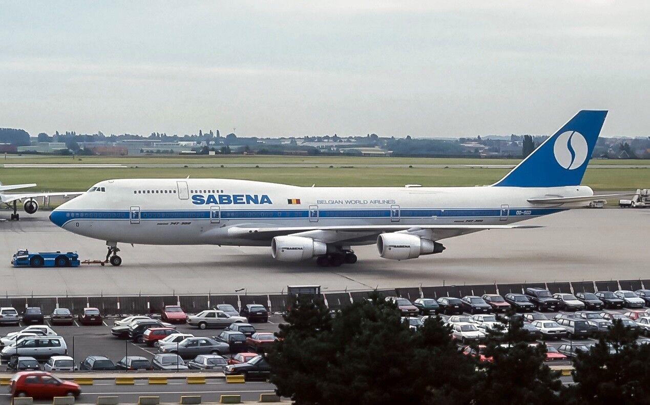 Inflight 200 If743sn1018 1 200 Sabena Boeing 747-300 Oo-Sgd