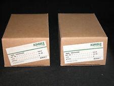 12 Kimble Glass Kimax Centrifuge Tubes 35 Ml Reuseable Tube With Cap 45212