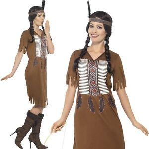 Indio Americano Inspirado Warrior Disfraz De Princesa India Por - Disfraz-india-americana