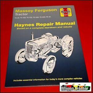 Details about WSM5975 Workshop Manual Massey Ferguson TEA20 TEF20 FE35  Tractor & MF 35 w 4Cyl