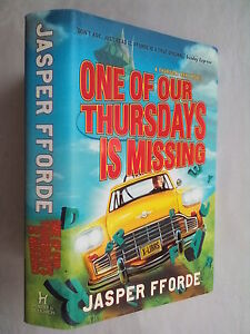 JASPER-FFORDE-ONE-OF-OUR-THURSDAYS-IS-MISSING-1ST-1-H-B-D-J-2011-UNREAD-COPY