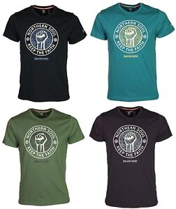 Mens-Lambretta-Northern-Soul-Crew-Neck-Short-Sleeve-Summer-T-Shirt-Tops-S-4XL