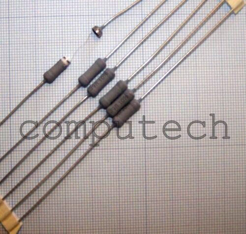 10 pezzi Resistenza a filo avvolto 39 Ohm 39R 3W Vishay Draloric Z302-C00