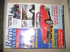 Retro Hebdo n°90 Chevrolet Corvette 1962 Locomobile Case 1909
