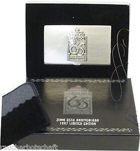 Zippo-65th-card-case-ASTUCCIO-PER-BIGLIETTI-DA-VISITA-LIMITATA-Edition-AUS-1997