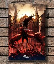 HELLSING Vampire Fighting Japan Anime Art Silk Poster 13x20 24x36 inch J708