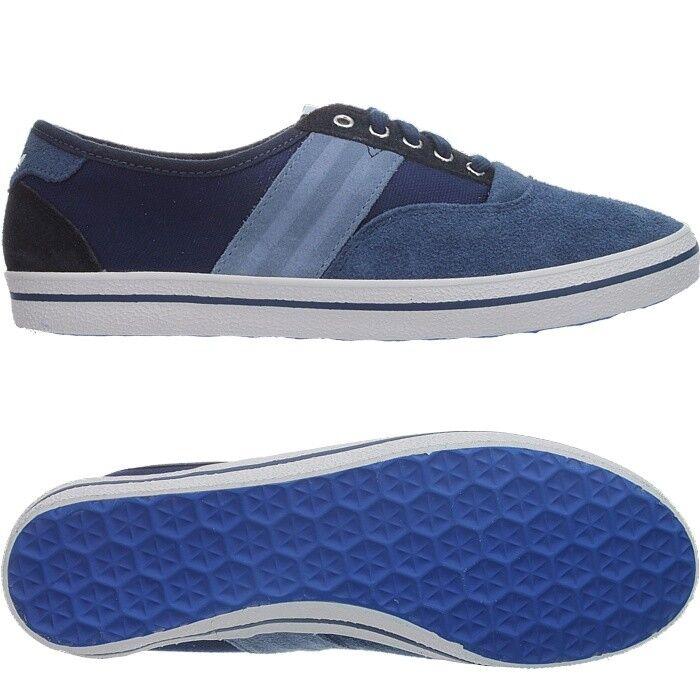 Adidas aanee Femmes Baskets Bleu De Loisirs Chaussures Daim Neuf T. 37 1/3-