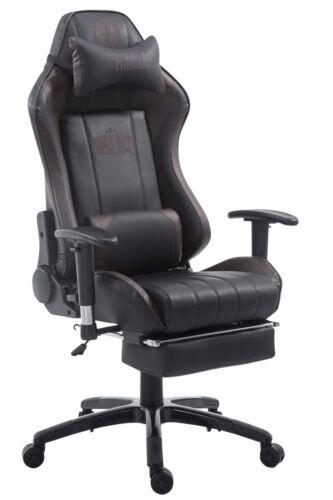 Racing Bürostuhl Shift Gaming Schreibtischstuhl Kunstleder mit /& ohne Fußstütze