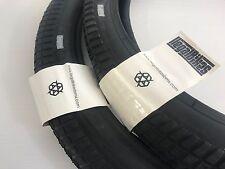X 2 / Set Of Two Tyres  -  Ilegal BMX Amplo Tyre 20 x 2.35 -  BMX BIKE -