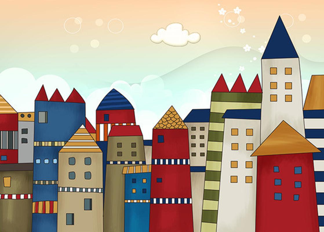 3D Farbe Haus Haus Haus Himmel 789 Tapete Wandgemälde Tapeten Bild Familie DE Summer | Kaufen Sie beruhigt und glücklich spielen  | Abrechnungspreis  | Spezielle Funktion  03d0a5