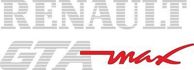 RENAULT TWINGO Rear Tailgate Restoration Replacement Décalque Autocollants Graphic Sport