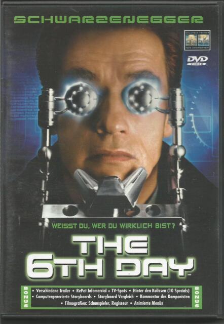 The 6th Day,  Arnold Schwarzenegger  DVD