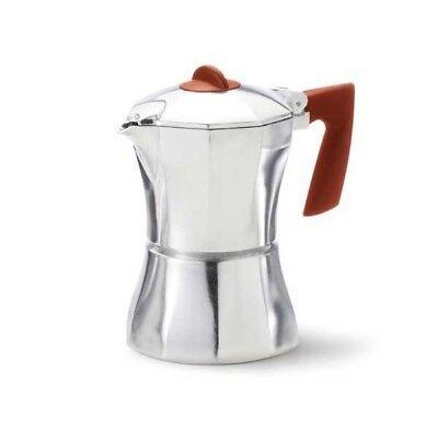 Caffettiera 1 Tazza Con Manico Ergonomico Prestige Accademia Mugnano