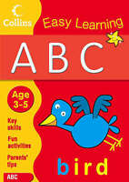 ABC Easy Learning Ages 3-5 Collins Education Literacy Book NEW (B006)