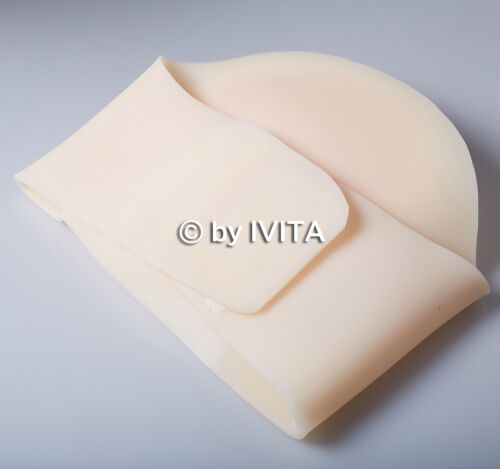 IVITA 2400g False Silicone Pregnant Belly Tummy Baby Bump 5 7 Months Soft Belly