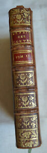 1731 Guyot de Pitavall Esprit des conversations agréables T2 Cuir BE