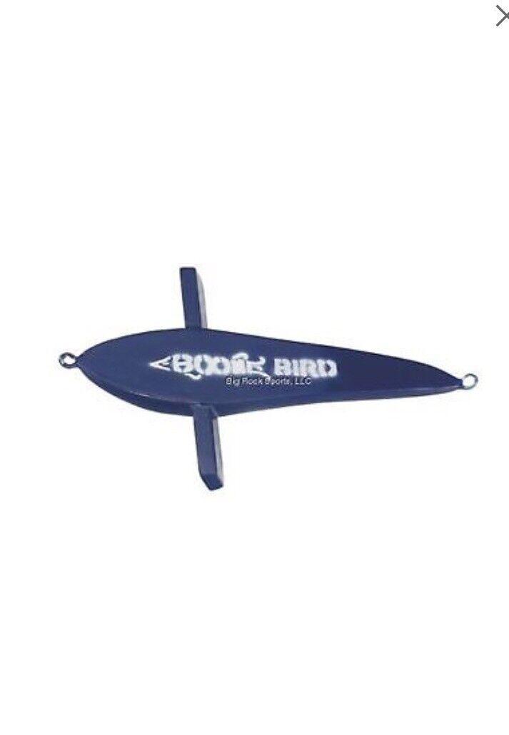 Boone 16244 Unrigged Bird, 9 1 2  Dolphin bluee