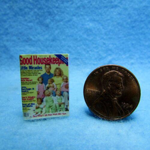 Dollhouse Miniature Replica of Good Housekeeping Magazine ~ Printed to Detail