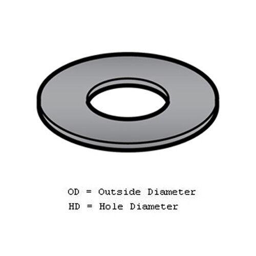 """Fiber Washer for Meat Grinder//Chopper Size 2/"""" OD 1/"""" HD"""