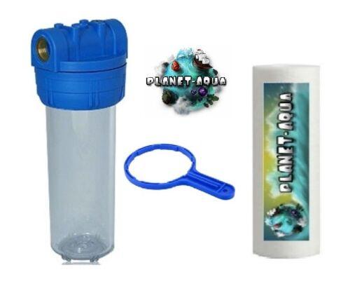 """accessoires Filtre Boîtier 10 in 1/"""" Filtre Filtre à eau puits installation d/'"""