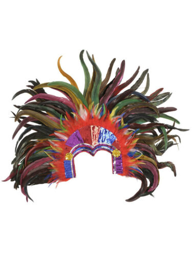Testa Gioielli Brasil Tropicana piume carnevale Brasile