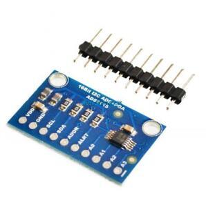 16-Bit-I2C-ADS1115-Module-ADC-4-channel-with-Pro-Gain-Amplifier-RPi-1PCS