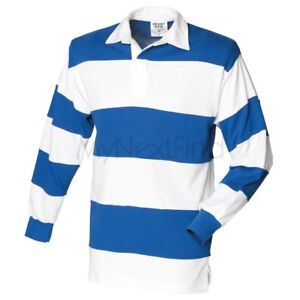 Front-Row-Sewn-a-rayures-a-manches-longues-rugby-shirt
