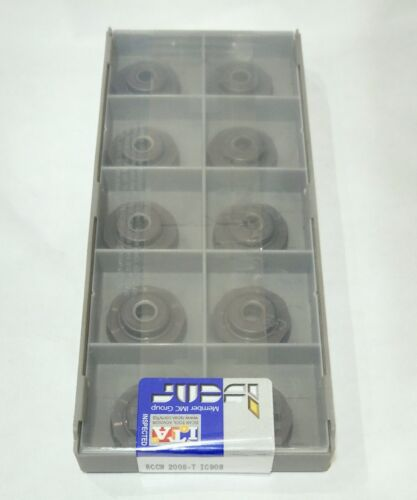 ISCAR RCCW 2005-T grade IC908 x10pcs milling carbide inserts