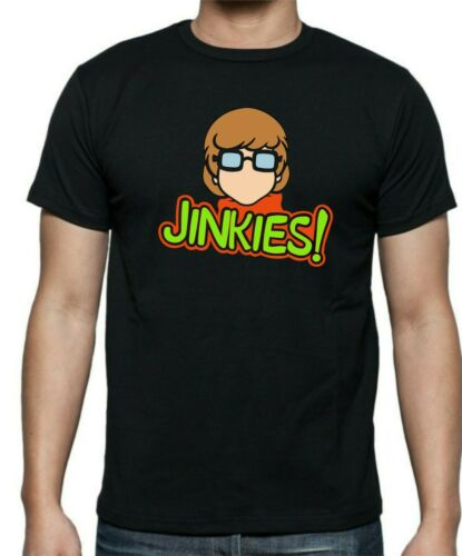sizes up to 5XL Scooby Doo VELMA Jinkies mens and ladies fitted T-shirt ..