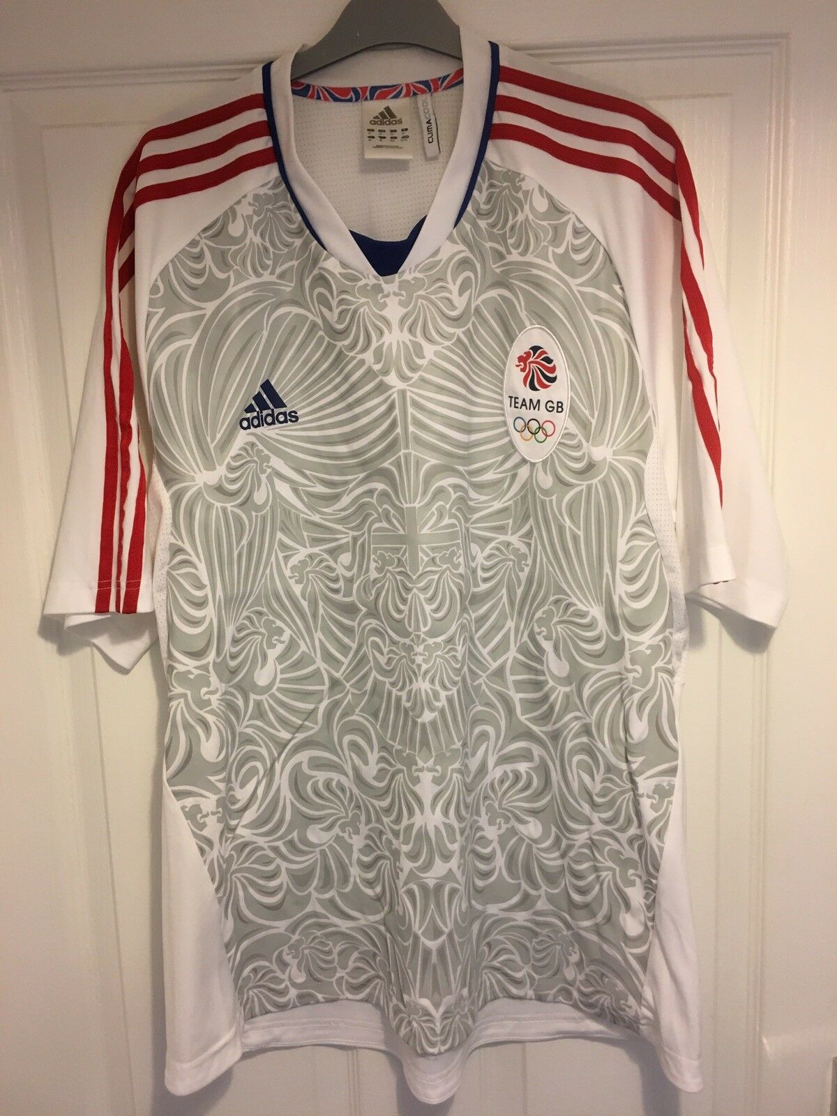 Equipo de GB Edición Limitada de 2012 Camiseta De Fútbol Adidas XL Juegos Olímpicos de hombre London Raro