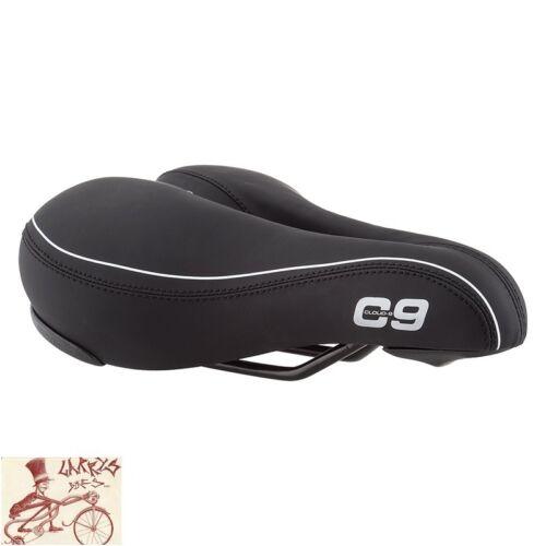 CLOUD 9 COMFORT AIRFLOW BLACK COMFORT BICYCLE SADDLE SEAT
