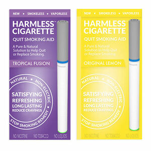 Harmless-Cigarette-Quit-Smoking-Aid-Variety-2-Pack-Tropical-Fusion-and-Lemon