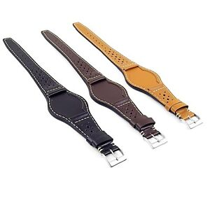 DASSARI-Timber-Leather-Rally-Bund-Watch-Band-Strap-for-Tudor-Heritage-Ranger