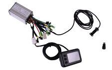 36V, 12A Controller Set mit 5-Stufen-Display und Tacho für Pedelec, e-Bike