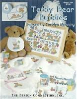 Teddy Bear Buddies Carolyn Manning Design 130 Cross Stitch Patterns Baby
