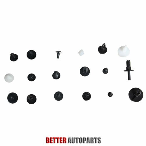 415pcs 18 Size For All Ford Trim Clip Car Retainer Panel Bumper Fastener Kit Set