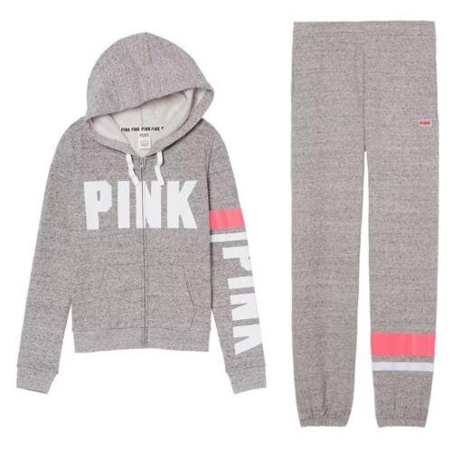 Secret Victoria's Campus Gloednieuw Pink grijs Crewbroekenset large zMpLUSGqV