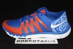 008e903e2e91 Nike Free Trainer 5.0 V6 AMP Florida Gators PE Blue Orange 723939 ...
