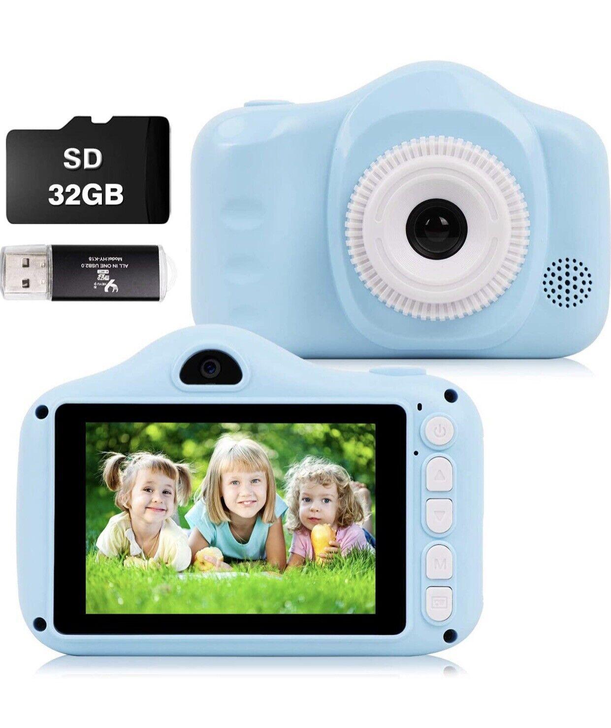 weefun Kids Camera Toys Dual Lens Digital Selfie Camera,3.5 inch Color Screen