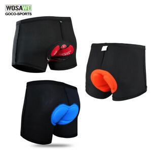 Men-039-s-Padded-Underwear-Cycling-Shorts-MTB-Mountain-Bike-bicycle-Underpants