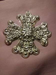 1974-Reed-amp-Barton-Sterling-Silver-Christmas-Ornament-3-Inch