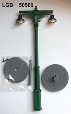 2-armig Spur G LGB 50560 Bahnhofslampe