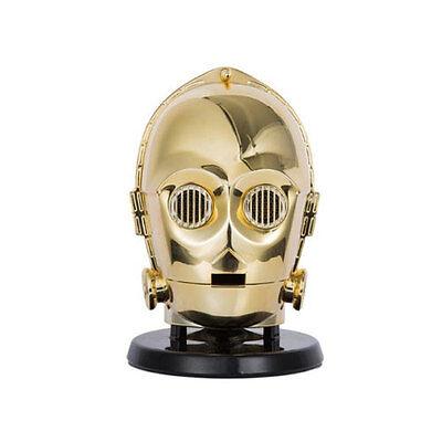 NEW GENUINE STAR WARS C-3PO BLUETOOTH PORTABLE WIRELESS GOLD SPEAKER