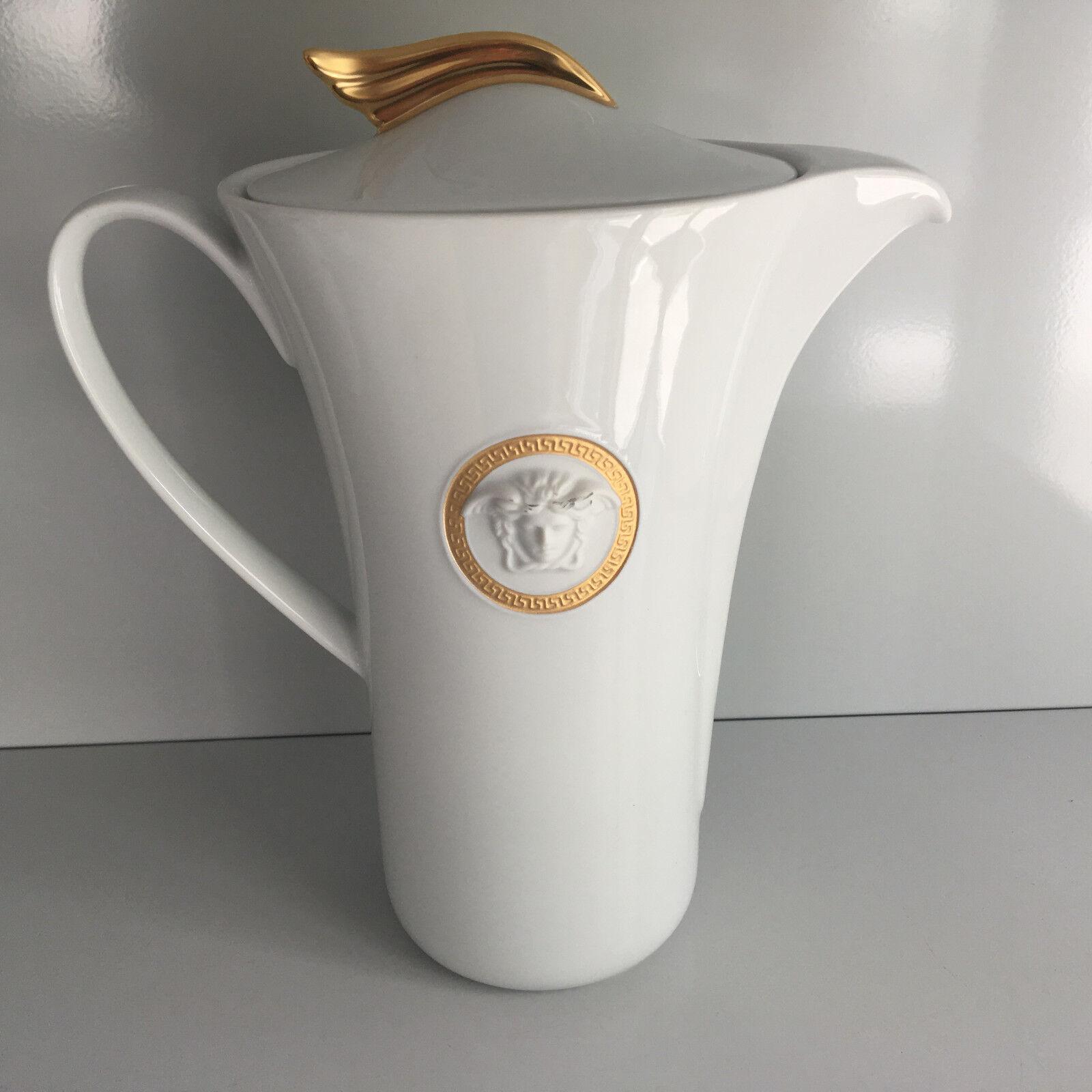 ROSENTHAL VERSACE médaillon MEANDRE d or Cafetière 1,20 L I. choix Coffee Pot