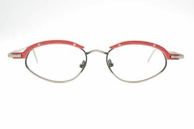 Capace Vintage Eye Tec 19 48 [] 19 140 Rosso Grigio Ovale Occhiali Eyeglasses Nos- Una Vasta Selezione Di Colori E Disegni