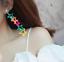 Women-Coloured-Star-Drop-Dangle-Stud-Long-Ear-Studs-Acrylic-Earrings-Jewelry thumbnail 2