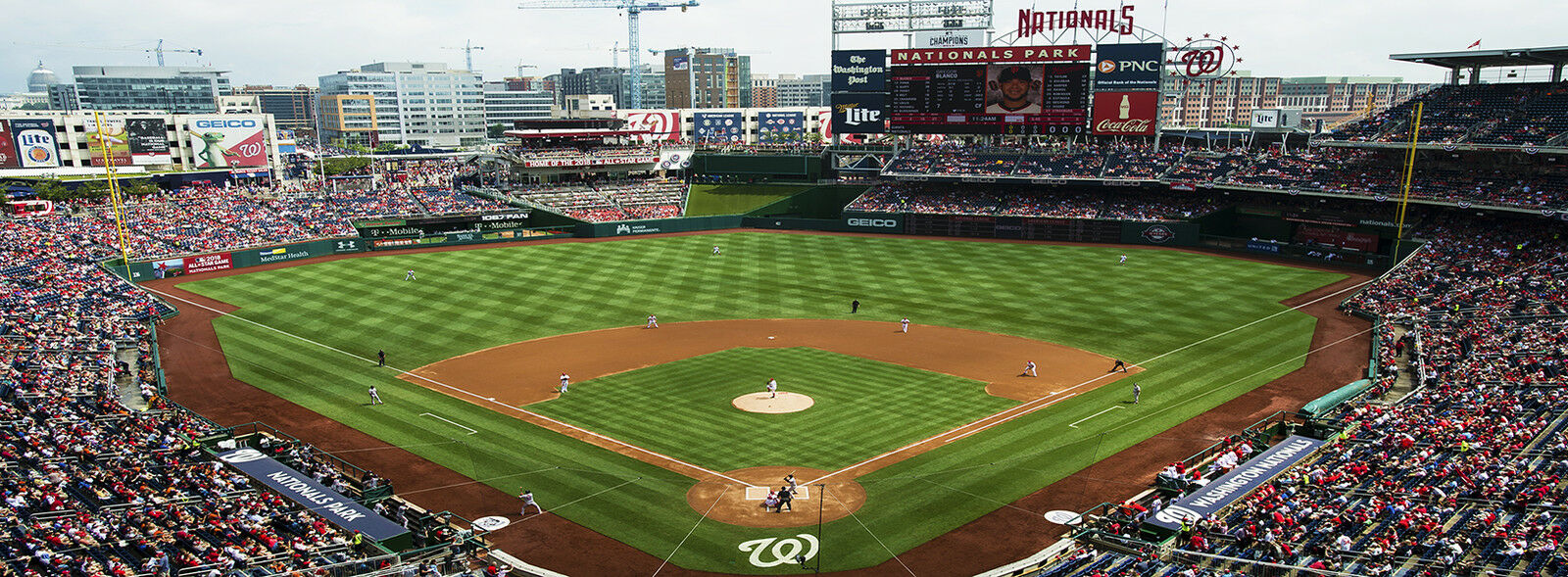 Milwaukee Brewers at Washington Nationals Tickets (Nationals Fedora Giveaway)