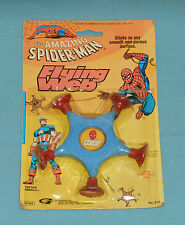 vintage Gordy THE AMAZING SPIDER-MAN FLYING WEB MOC rack toy